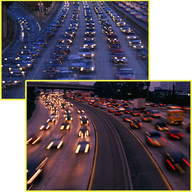 Rush Hour Traffic Images
